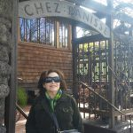 Marsha at Chez Panisse