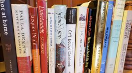 1. Our collection of restaurant cookbooks