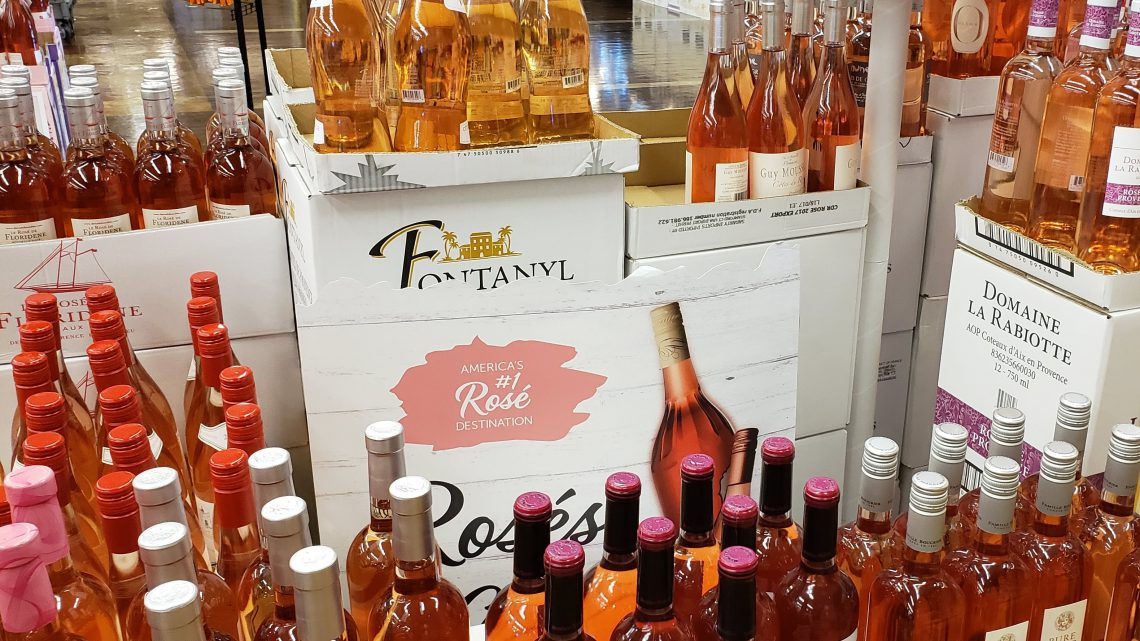 1. Rosé comes in a rainbow of colors