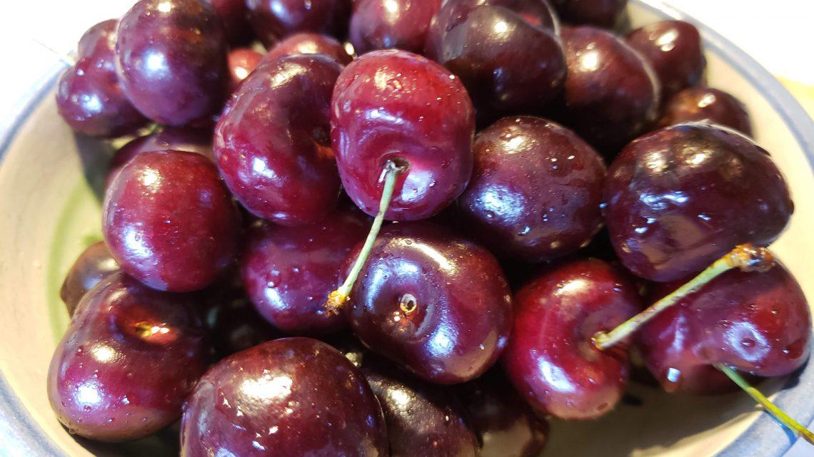 1. Life is a bowl full of sweet bing cherries