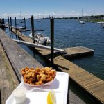 Fried Clams by the water at Overton's