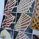6. Instruction for a cherry pie lattice top crust in Fine Cooking Magazine