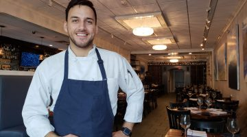 Chef Nicolas Ramirez at One29 in New Canaan