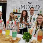 The happy crew at Be Mixed zero calorie cocktail mixers
