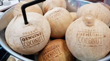 8. Cocanut based foods were popular at the FFS show this year.