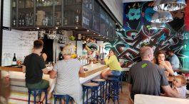 1. The mural in Flinders Lane