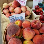 2. Local peaches