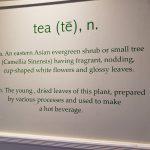2. Tea sign