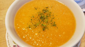 canteloupe and ginger soup