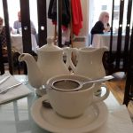 Tea service at the Willow