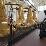 HIghland Park's copper stills