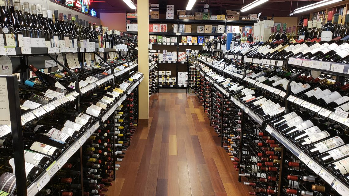 Picking a wine in a well stocked store can be overwhelming
